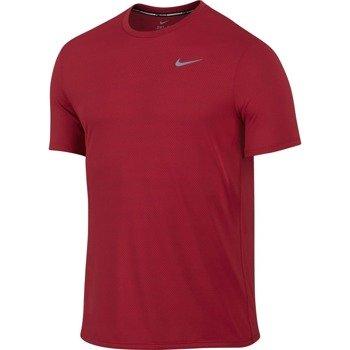 koszulka do biegania męska NIKE DRI-FIT CONTOUR SHORT SLEEVE  / 683517-657