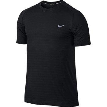 koszulka do biegania męska NIKE DRI-FIT KNIT NOVELTY CREW / 619953-010