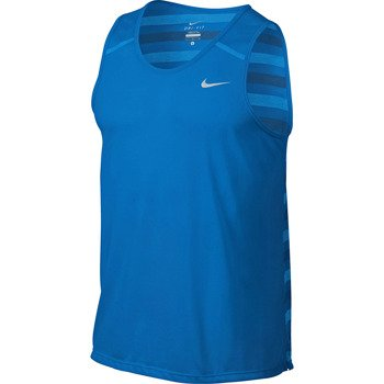 koszulka do biegania męska NIKE DRI-FIT TOUCH TAILWIND TANK / 596198-406