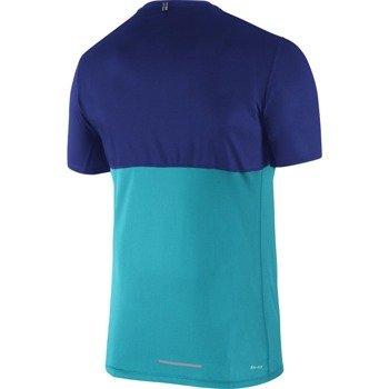 koszulka do biegania męska NIKE RACER SHORT SLEEVE / 644396-418
