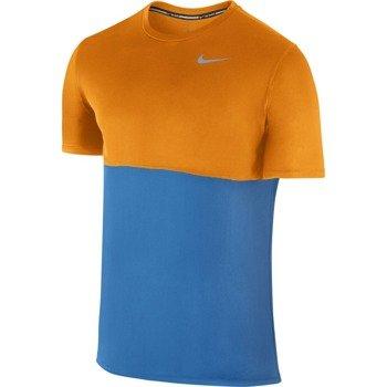 koszulka do biegania męska NIKE RACER SHORT SLEEVE / 644396-435