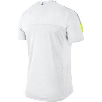 koszulka do biegania męska NIKE RACER SHORTSLEEVE / 543231-101
