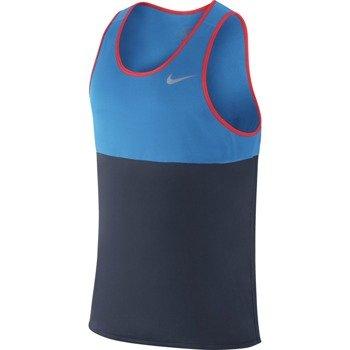 koszulka do biegania męska NIKE RACER SINGLET / 642844-451