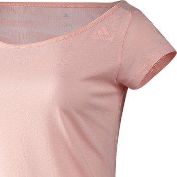 koszulka sportowa damska ADIDAS STUDIO CULTURE BURNOUT TEE / D89274