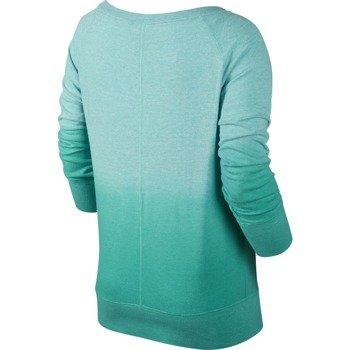 koszulka sportowa damska NIKE GYM VINTAGE CREW-DIPDYE / 684873-466