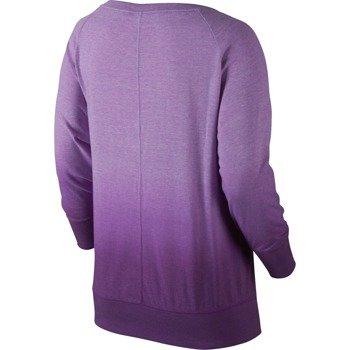 koszulka sportowa damska NIKE GYM VINTAGE CREW-DIPDYE / 684873-510