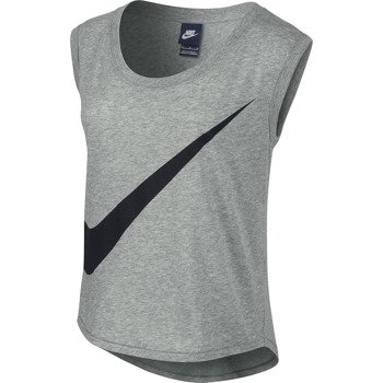 koszulka sportowa damska NIKE PREPARATION TEE LARGE SWOOSH