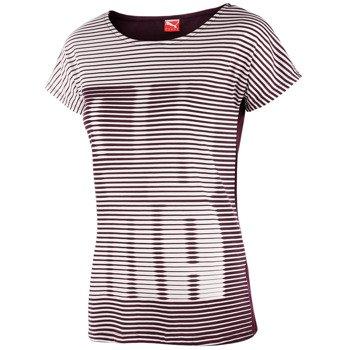 koszulka sportowa damska PUMA STRIPE TEE / 830245-09