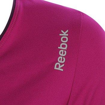 koszulka sportowa damska REEBOK SPORT ESSENTIALS PLAY DRY V NECK TEE / AA9891