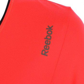 koszulka sportowa damska REEBOK SPORT ESSENTIALS PLAY DRY V NECK TEE / AA9894