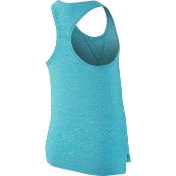 koszulka sportowa dziewczęca NIKE GYM VINTAGE TANK / 728423-418
