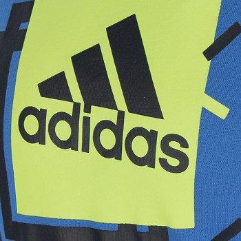koszulka tenisowa chłopięca ADIDAS BOXY LOGO / AC3212