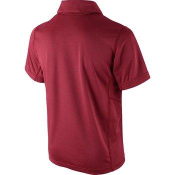 koszulka tenisowa chłopięca NIKE N.E.T. UV SHORT SLEEVE POLO / 522356-687