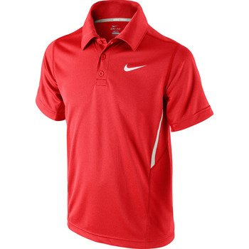 koszulka tenisowa chłopięca NIKE N.E.T. UV SHORT SLEEVE POLO / 522356-694