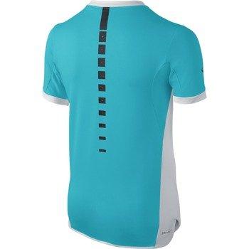 koszulka tenisowa chłopięca NIKE PREMIER RAFA CREW / 802145-429
