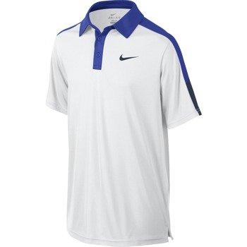 koszulka tenisowa chłopięca NIKE TEAM COURT POLO / 642071-102