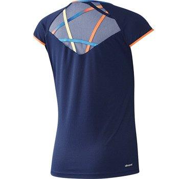 koszulka tenisowa damska ADIDAS RG CAPSLEEVE Roland Garros 2014