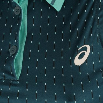 koszulka tenisowa damska ASICS CLUB SLEEVE LESS POLO / 130252-0184