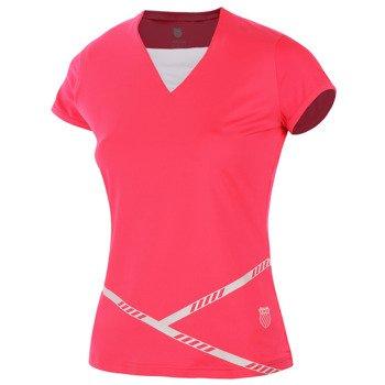 koszulka tenisowa damska K-SWISS GAME II CAPSLEEVE