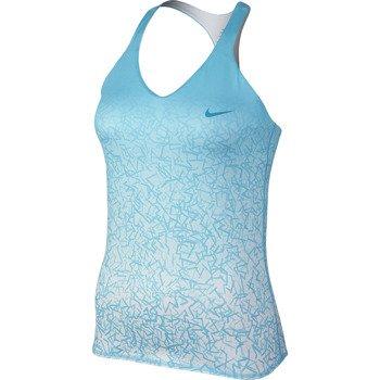 koszulka tenisowa damska NIKE ADVANTAGE PRINTED TANK / 646196-401