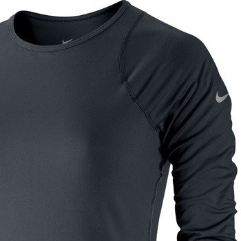 koszulka tenisowa damska NIKE BASELINE 3/4 SLEEVE TOP / 558819-010