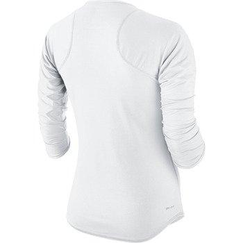 koszulka tenisowa damska NIKE BASELINE 3/4 SLEEVE TOP / 558819-101