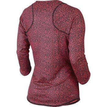 koszulka tenisowa damska NIKE BASELINE 3/4 SLEEVE TOP / 637784-233