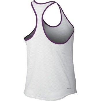 koszulka tenisowa damska NIKE SLAM BREATHE TANK / 683145-101