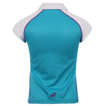 koszulka tenisowa dziewczęca BABOLAT POLO MATCH PERFORMANCE / 42S1433-111