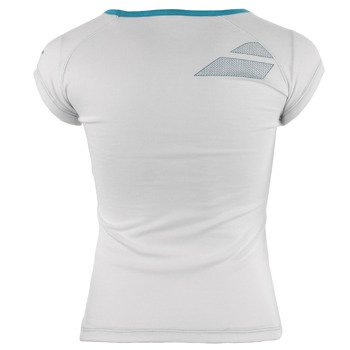 koszulka tenisowa dziewczęca BABOLAT TEE CORE / 42F1572-101