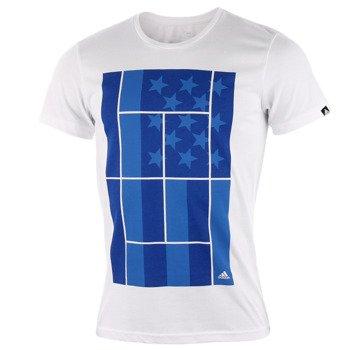 koszulka tenisowa męska ADIDAS US TENNIS TEE / AA4223