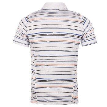 koszulka tenisowa męska ASICS CLUB GRAPHIC SHORT SLEEVE POLO / 122766-0106