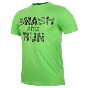koszulka tenisowa męska ASICS SMASH AND RUN TEE / 121297-0496