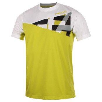 koszulka tenisowa męska HEAD ARINE T-SHIRT /  811285 LIWHS