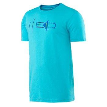 koszulka tenisowa męska HEAD TRANSITION DRAKE GRAPHIC TEE / 811606 AQ