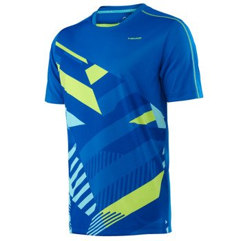 koszulka tenisowa męska HEAD VISION CAY T-SHIRT / 811296 BL
