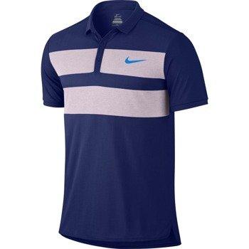 koszulka tenisowa męska NIKE ADVANTAGE DRI-FIT COOL POLO / 728949-455