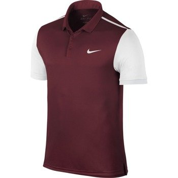 koszulka tenisowa męska NIKE ADVANTAGE POLO / 633106-677