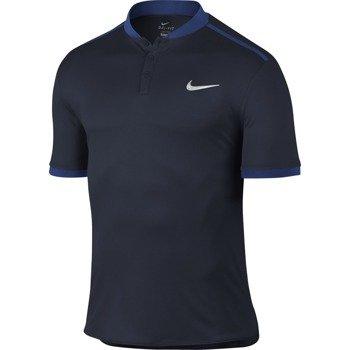 koszulka tenisowa męska NIKE ADVANTAGE POLO SOLID / 729384-451