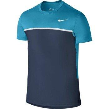koszulka tenisowa męska NIKE CHALLENGER CREW / 648240-408