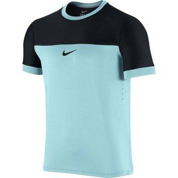 koszulka tenisowa męska NIKE CHALLENGER PREMIER RAFA CREW Londyn 2015 / 646097-437