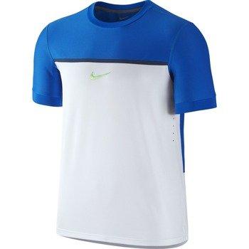 koszulka tenisowa męska NIKE CHLLNGR PREMIER RAFA CREW US Open Series / 646097-101