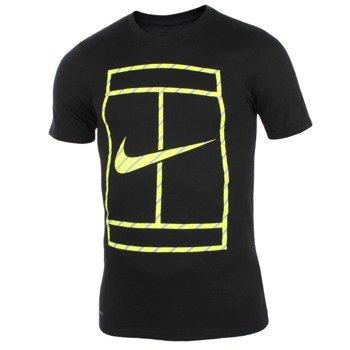 koszulka tenisowa męska NIKE COURT FRENCH STRIPE TEE / 658171-010