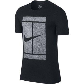 koszulka tenisowa męska NIKE COURT LOGO TEE / 777869-010