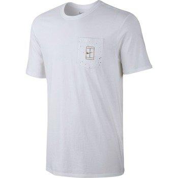 koszulka tenisowa męska NIKE COURT WIMBLEDON POCKET TEE / 777877-100
