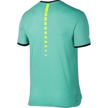 koszulka tenisowa męska NIKE RAFA CHALLENGER TOP SHORT SLEEVE PREMIER / 801704-317
