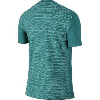 koszulka tenisowa męska NIKE ROGER SHORTSLEEVE V-NECK TEE / 688576-309