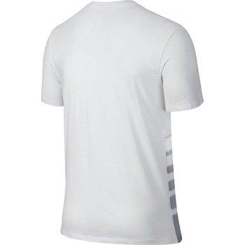 koszulka tenisowa męska NIKE ROGER SHORTSLEEVE V-NECK TEE / 777865-100