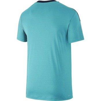 koszulka tenisowa męska NIKE TEAM COURT CREW / 644784-405