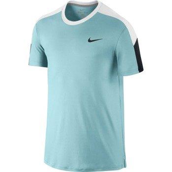 koszulka tenisowa męska NIKE TEAM COURT CREW / 644784-437